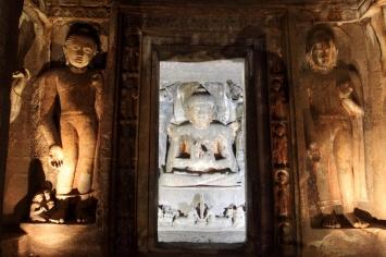 Buddha in sanctum