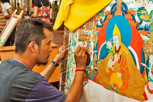 Thangka painting