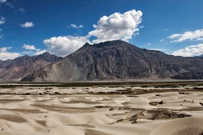 Sand dunes of Nubra Valley