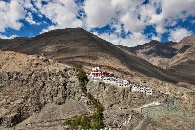 14th century Diskit Monastery