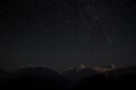 Stars over Nanda Kot(6861m) and Laspadhura(5913m)